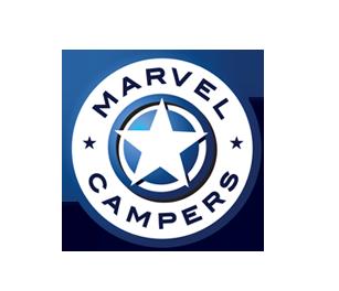 marvel campers logo