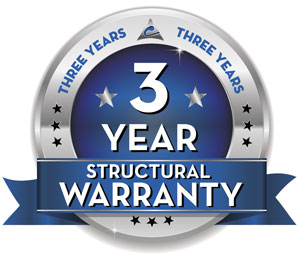 3 Year Structural Warranty
